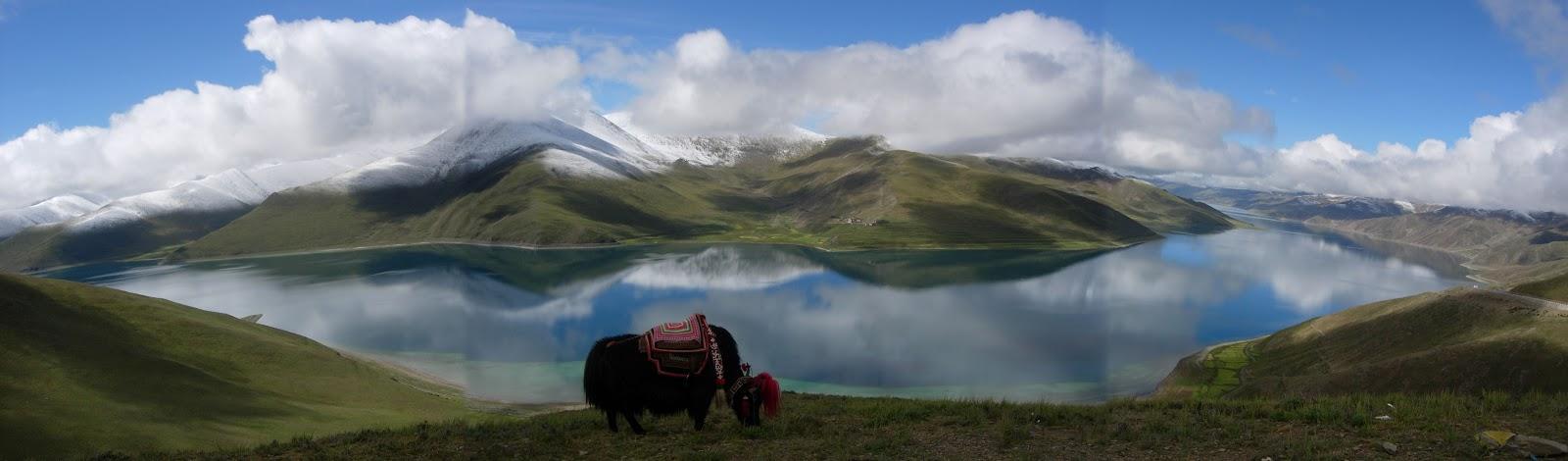 山南景點-西藏聖湖羊卓雍措