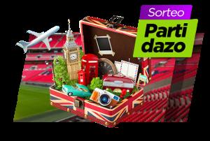 VivelaSuerte Sorteo viaje a Londres para ver a España en directo hasta 15 julio