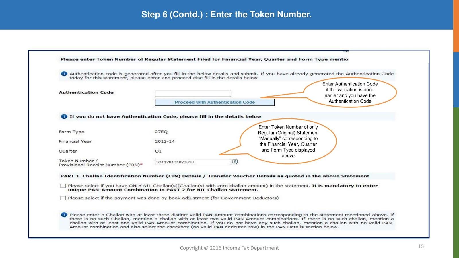 JDTAXMAN: TDS Form 16A Download