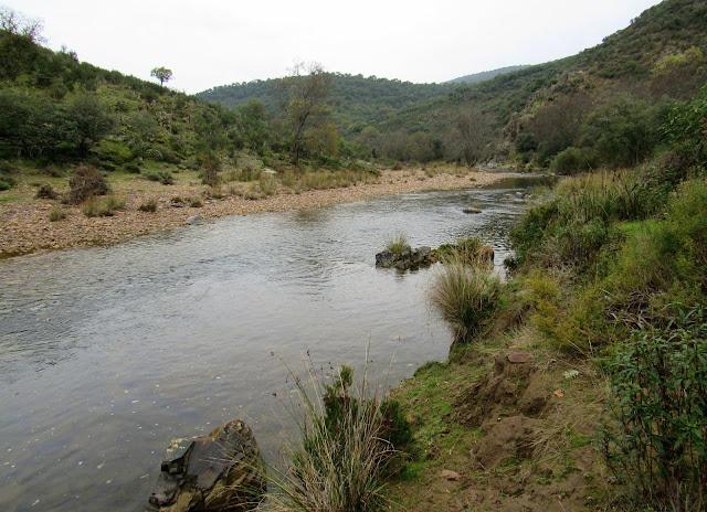 Río Estena. Parque Nacional de Cabañeros