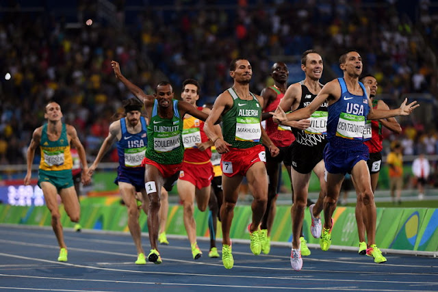 Matt Centrowitz Wins First Gold in 1,500 Meters for U.S. Since 1908