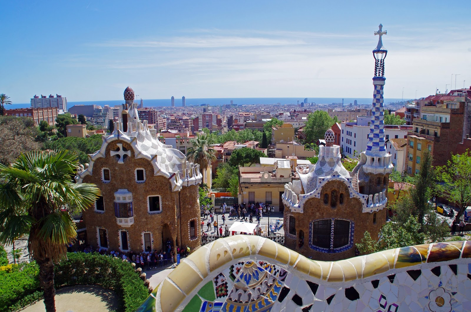 Views from Park Guell