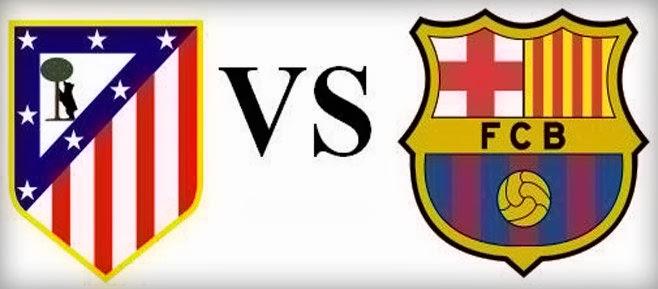 مشاهدة مباراة برشلونة وأتلتيكو مدريد اليوم 1-4-2014 بث مباشر دوري أبطال أوروبا
