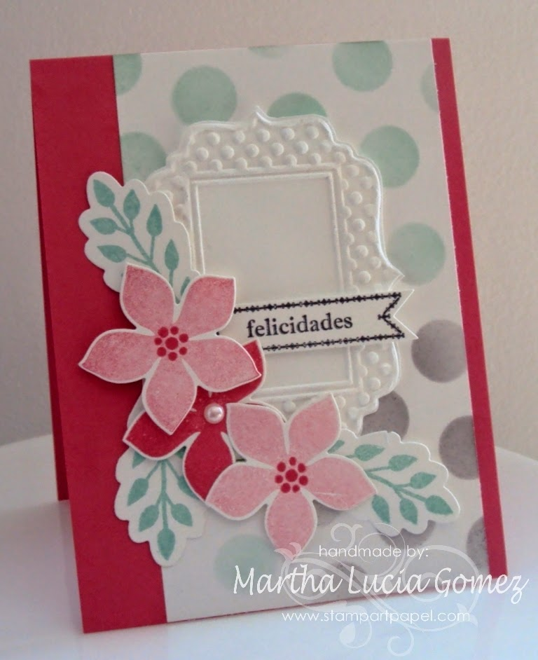 2014 In Colors Stampin Up: Around The World Stampin' Up! Challenges: AW21: Colors