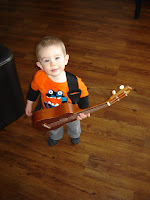 Tiny Toddler Guitar Model