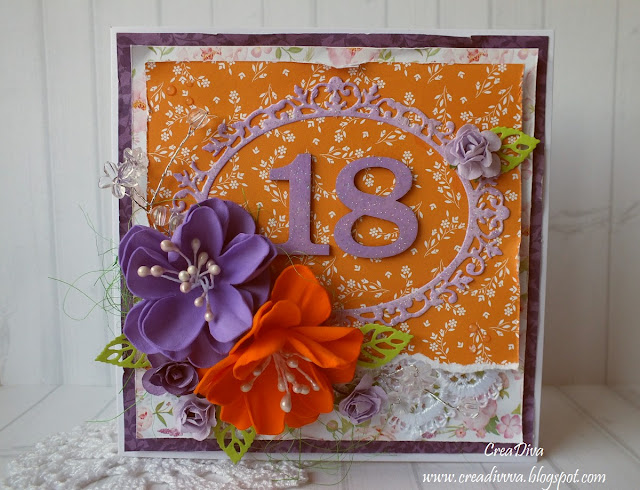 Pomarańczowa 18-tka / Orange 18