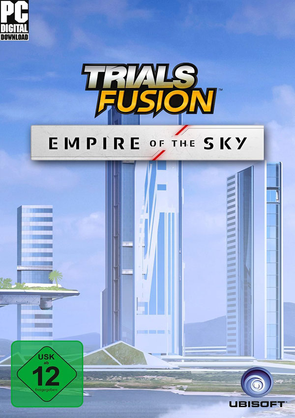 Trials Fusion Empire of the Sky Download Cover Free Game