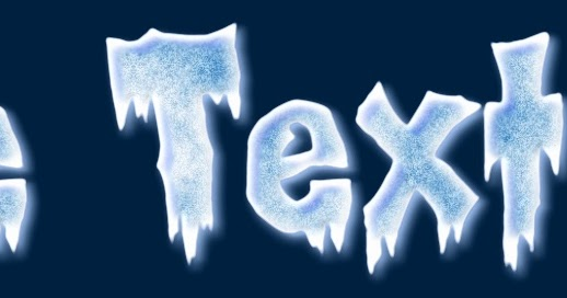 picture to people realistic frozen text effect logo makers