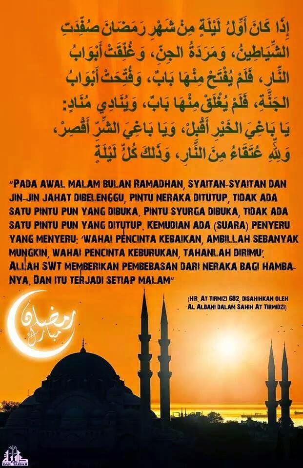 Status Hadis Ramadhan Keampunan Rahmat Bebas Neraka Abu Anas
