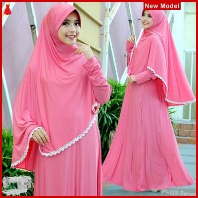 FHGS9106 Model Syari Ummi Salem, Perempuan Pakaian Muslim Jersey BMG