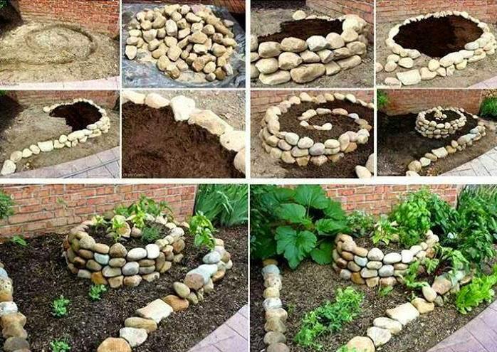 Decoraci n en el jard n construccion y manualidades for Adornos para jardin caseros