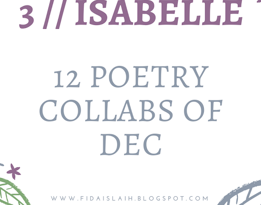 Poetry Collaboration - Isabelle