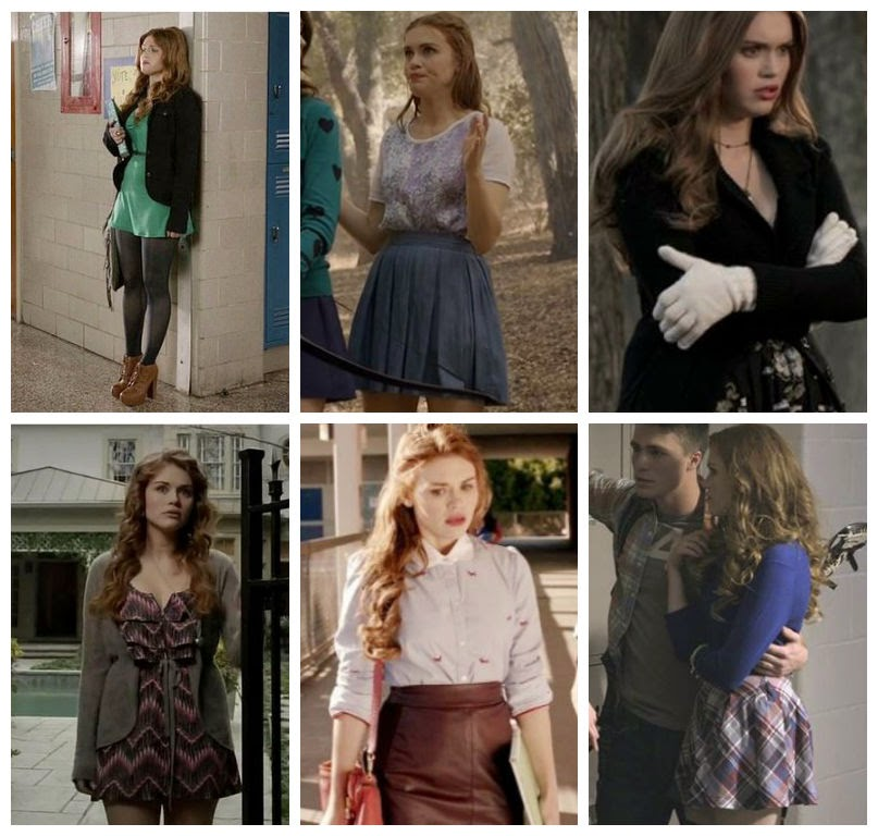 inspiration look holland roden lydia martin teen wolf