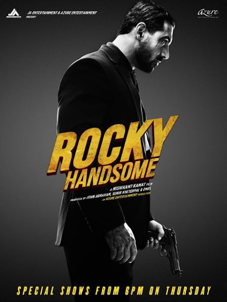 Poster Of Rocky Handsome 2016 720p Hindi DVDScr New Source Full Movie Download