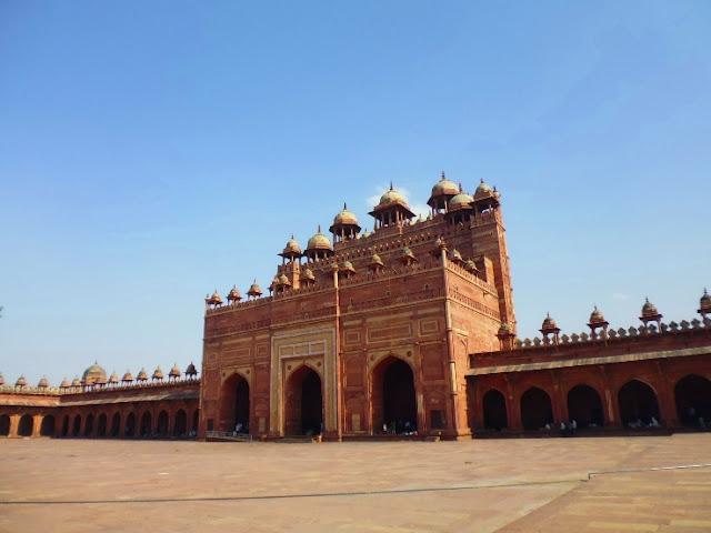 Fatehpur Sikri Palacae or Ghost Town