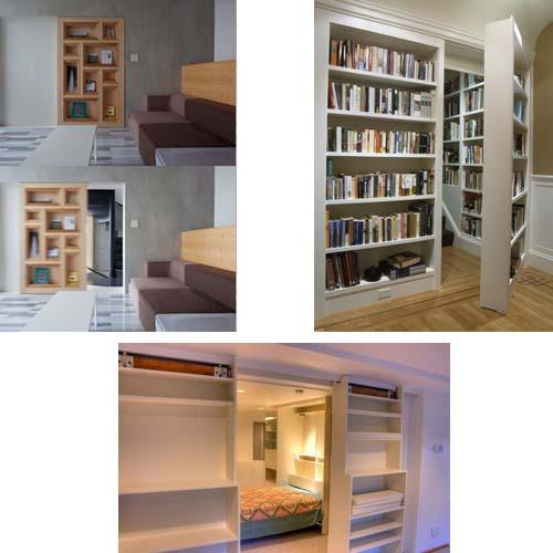 Mimetizza la porta arredamento facile - Camera da letto con libreria ...