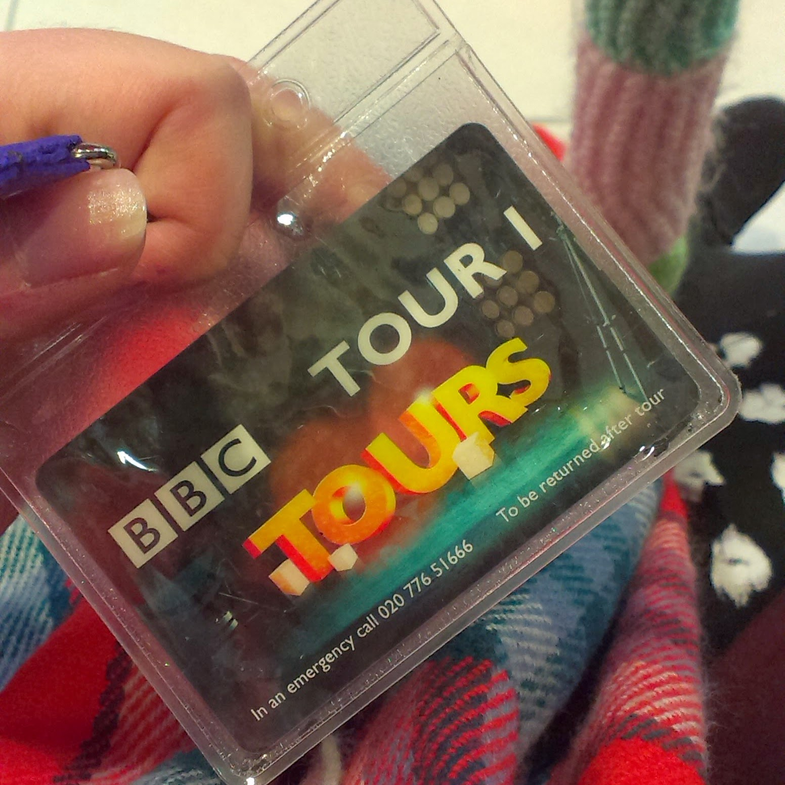 BBC Broadcasting House tour pass