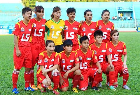 Đội bóng đá nữ đang có nhiều tiềm năng phát triển