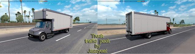 ats truck traffic pack v2.2 screenshots 1, Freightliner M2