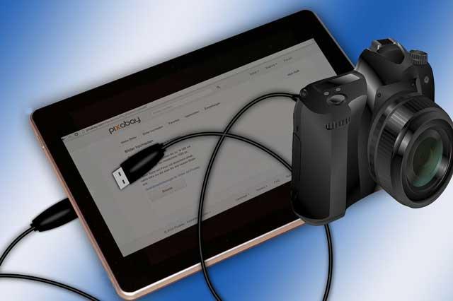 Cara Menghubungkan Kamera DSLR ke Komputer