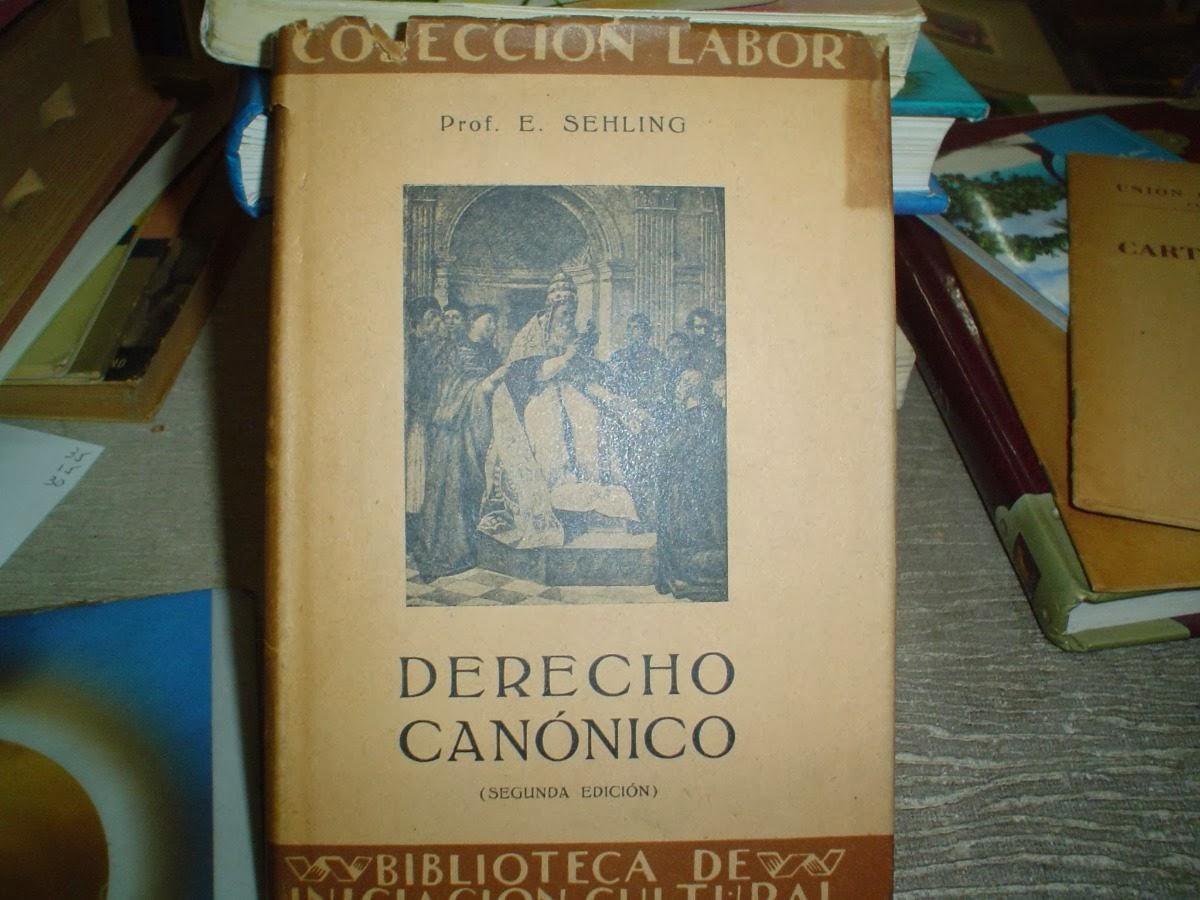 Libro de Derecho canonico