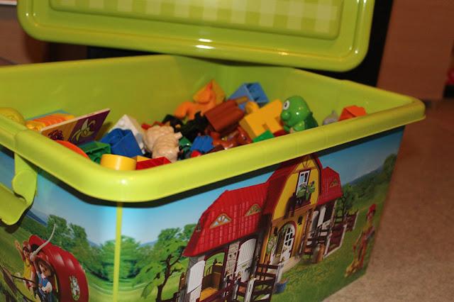 bac de rangement pour jouets