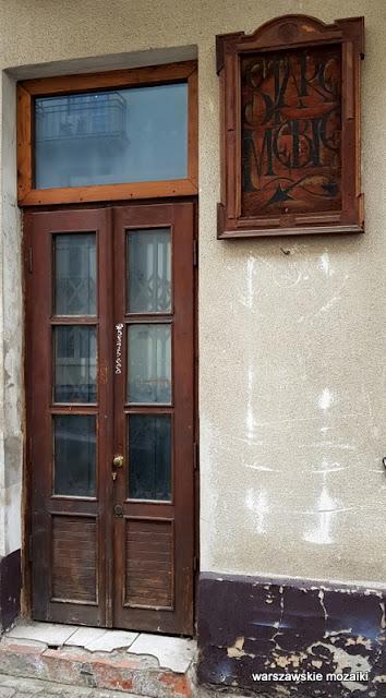 Warszawa Warsaw Stary Mokotów kamienica Ludwika i Stanisławy Tynelów architektura drzwi