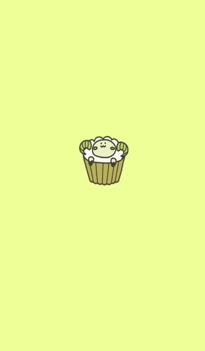 Sheep cupcake2