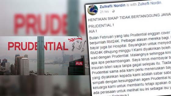 Benarkah Prudential Dan AIA Eggan Bayar Bil Hospital Pelanggan?