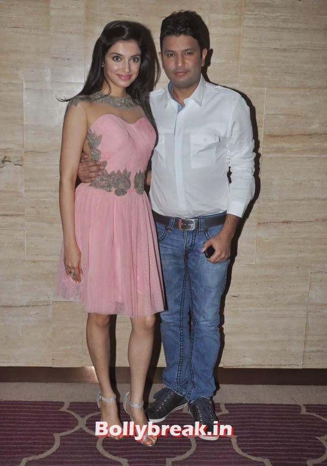 Divya Khosla and Bhushan Kumar, Bollywood Stars Attend Asin's birthday bash