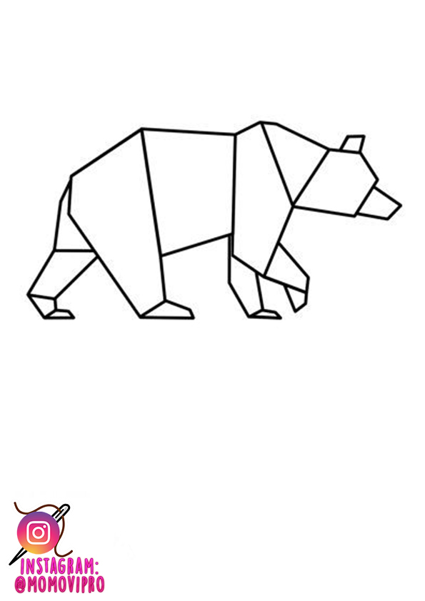 PATRONES BORDADO ANIMALES GEOMETRICOS. - MOMOVIPRO 💙