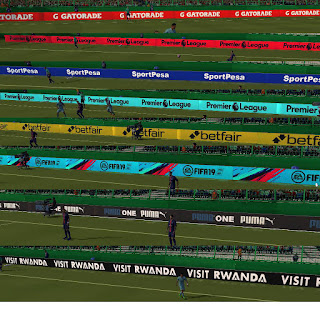 FIFA 14 Adboards Arsenal Season 2018/2019