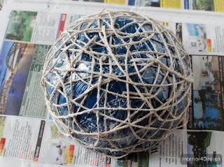 Make A String Bowl