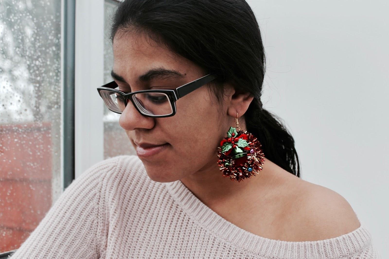 Primark Christmas Earrings