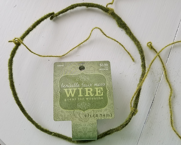 moss wrapped wire