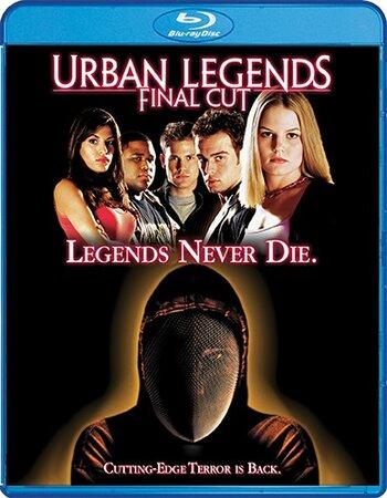 Urban Legends Final Cut (2000) Dual Audio Hindi 720p BluRay 750MB Movie Download