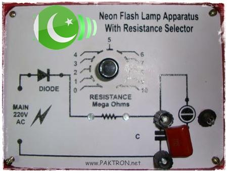 Determining High Resistance using Neon Flash Lamp ...