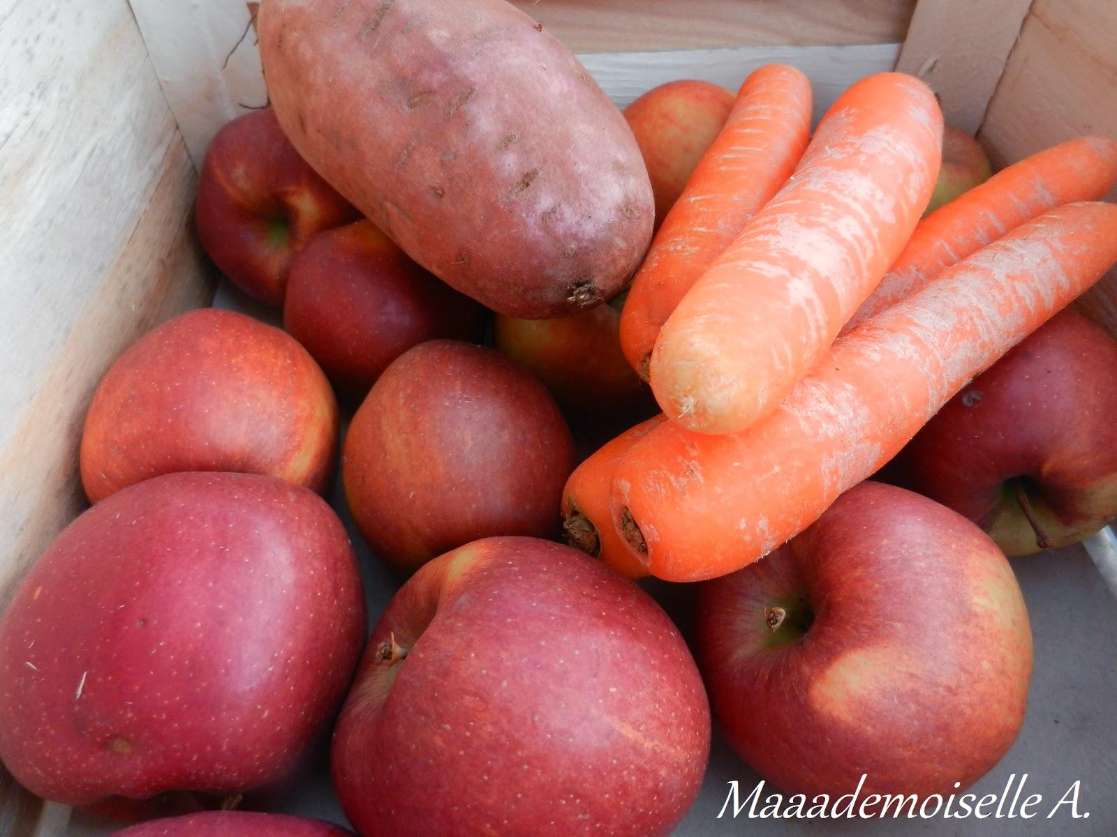 Carottes et pommes