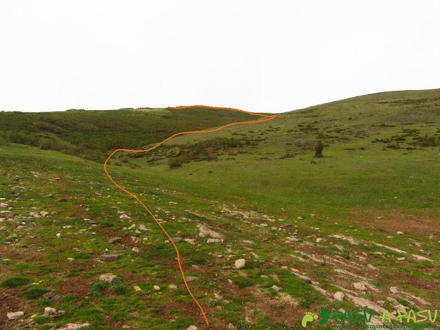 Subiendo al Pico Mocoso desde las Machadas