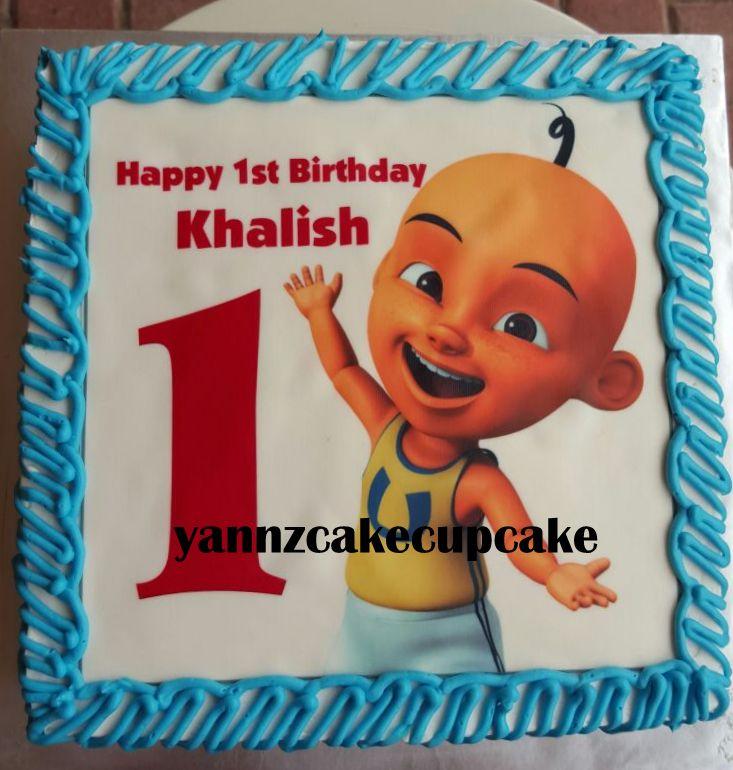 Cake & Cupcake By Yannz: Khalish Upin Ipin Birthday
