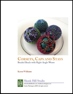 Corset, Caps & Stays Bead Beads tutorial by Karen Williams