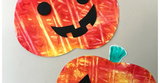 Mess Free Pumpkin Craft