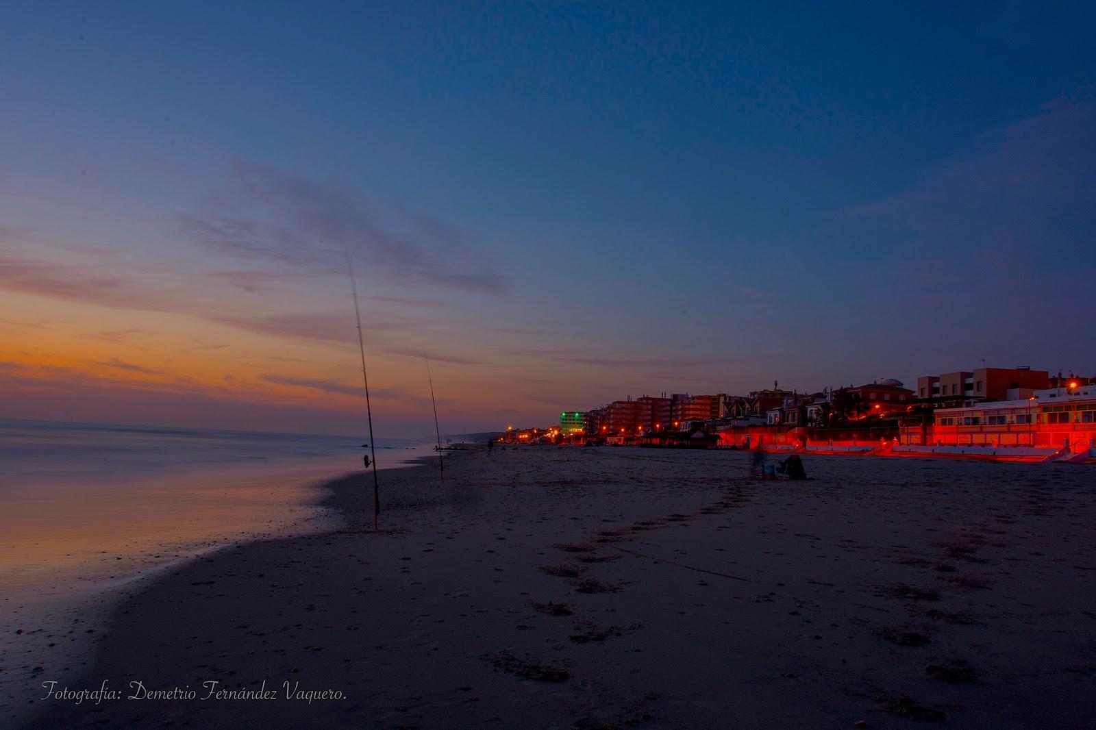 Puesta de sol en la playa de matalasca as huelva 3 for Cajeros en matalascanas