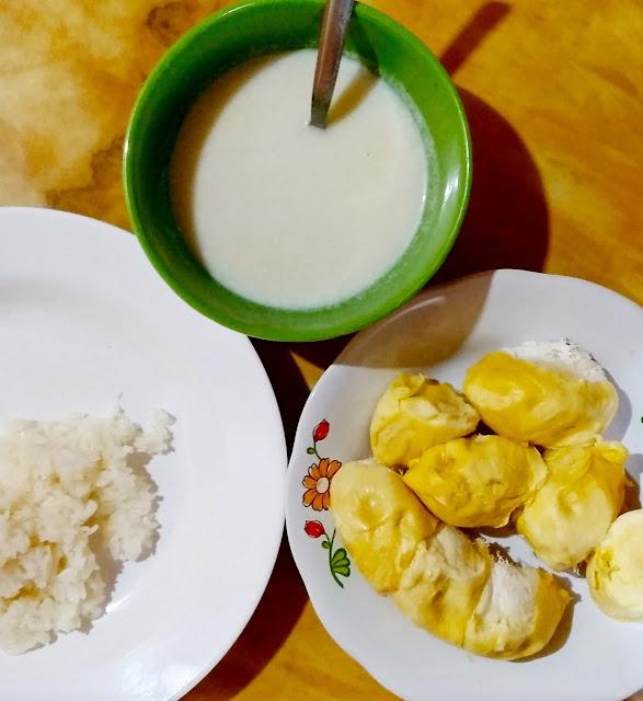 Pulut, cara masak pulut, masak pulut guna rice cooker, bolehkah masak pulut guna rice cooker, cara masak pulut dengan rice cooker, mudahnya masak pulut, pulut durian sedap, mudahnya buat pulut durian, pulut durian mudah dan sedap