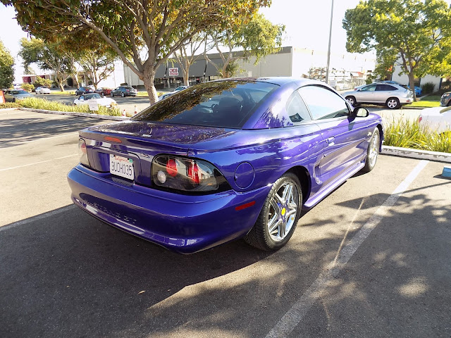 Mustang changed from purple to grey metallic @Almost-Everything Autobody