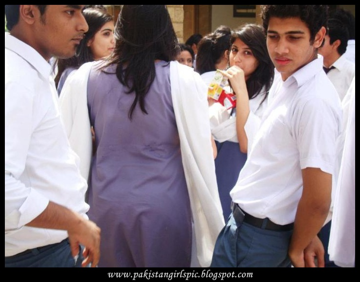 Pakistani Girls Pictures Gallery Pakistani School Uniform -8059