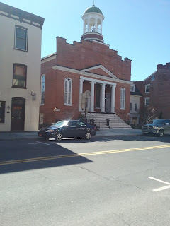 Front exterior of Christ Lutheran Church, Gettysburg PA