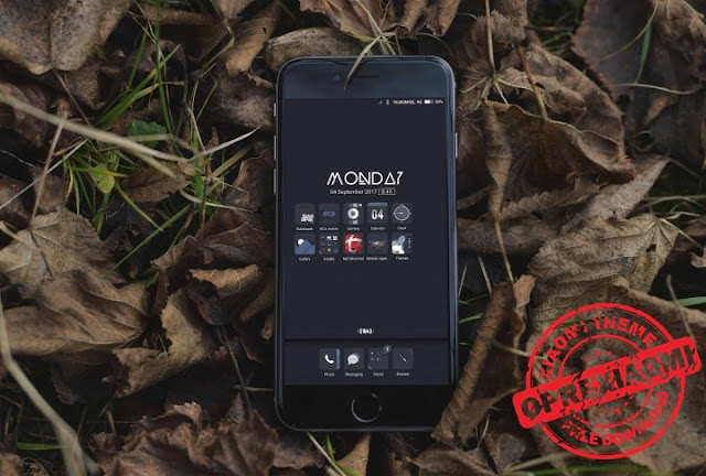 Xiaomi Theme GWAD Mtz Simpe Dark For MIUI 8 Asli Tembus Semua Aplikasi