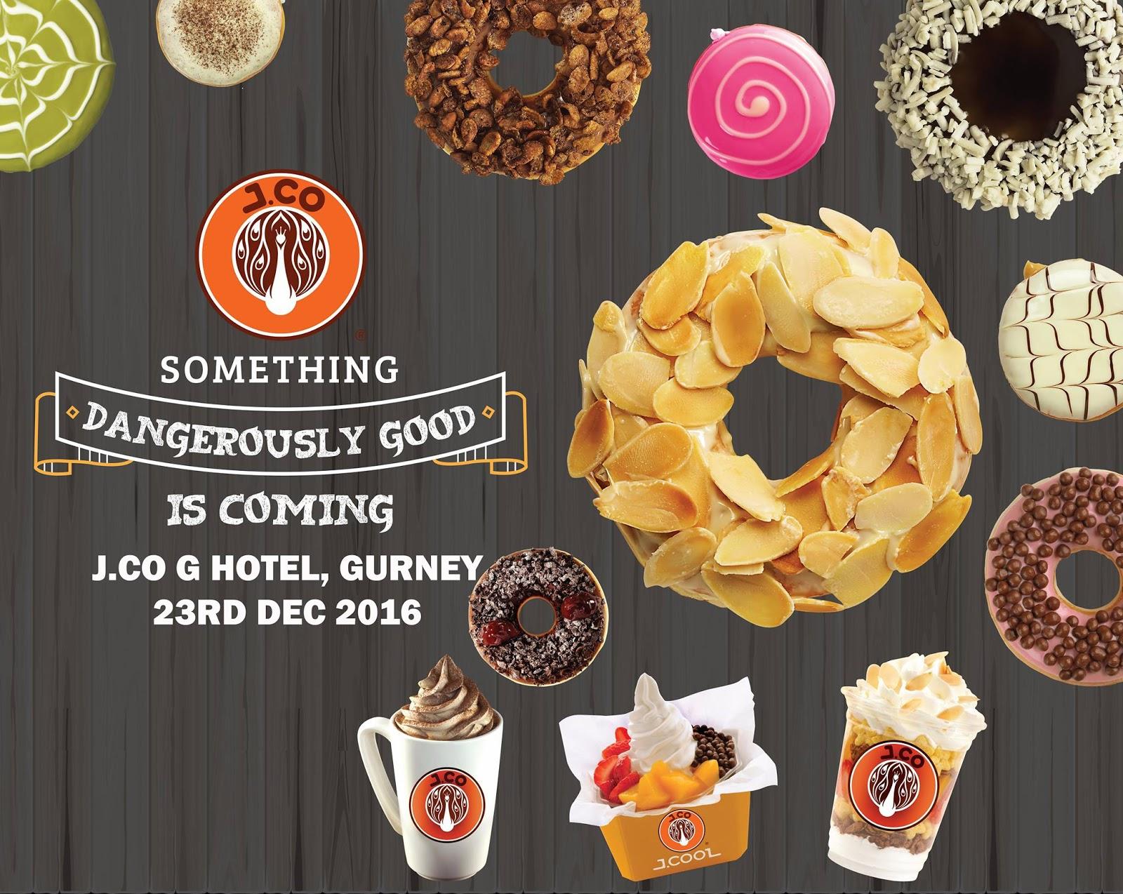 Jco Donuts Coffee Free Glazzy Upsize Rm3 Discount Voucher