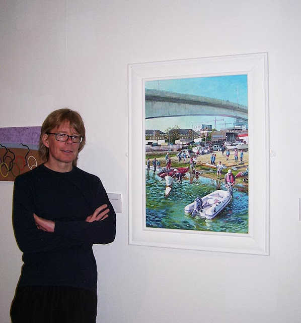 Martin Davey artist Southampton City gallery